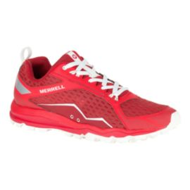 Merrell Men's All Out Crush Trail Running Shoes - Red/White
