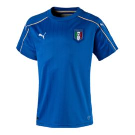 Italy Home Youth Soccer Jersey