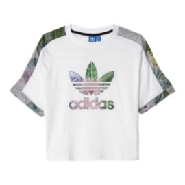 adidas Originals Train Cuff Floral All-Over Print Women's Tee