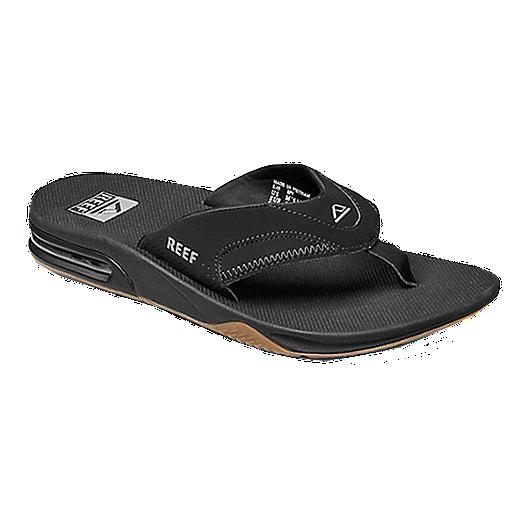 b45a3cd2c71 Reef Men s Fanning Sandals - Black
