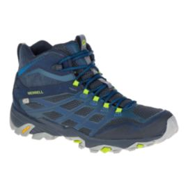 Merrell Men's Moab FST Waterproof Lite-Hiking Boots - Navy