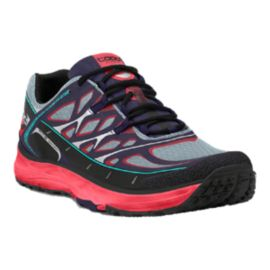 TOPO Women's MT-2 Trail Running Shoes - Black/Grey/Pink