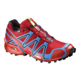 Salomon Men's SpeedCross 3 GTX Trail Running Shoes - Red/Blue