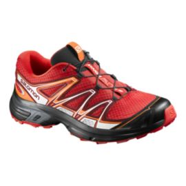 Salomon Men's Wings Flyte 2 Trail Running Shoes - Red/Black/Orange