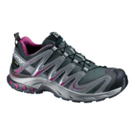 Salomon Women's XA Pro 3D GTX Trail Running Shoes - Grey/Purple