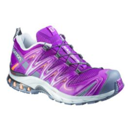Salomon Women's XA Pro 3D Trail-Running Shoes - Purple/Grey