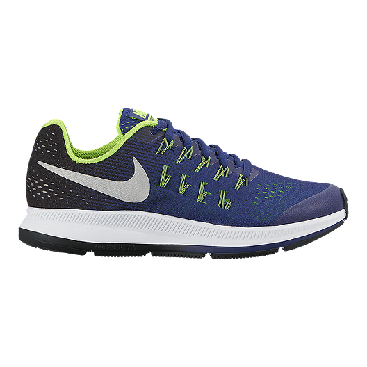 new concept 3ed07 9bdb6 Nike Zoom Pegasus 33 Kids' Grade-School Running Shoes ...