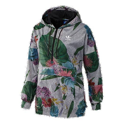 dad8f249923b8 adidas Originals Train Floral All-Over Print Women's Jacket | Sport Chek