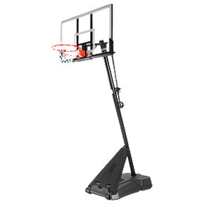 "Spalding 54"" Acrylic Hercules Basketball System"