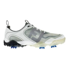 FootJoy Men's FreeStyle Golf Shoes - White/Grey