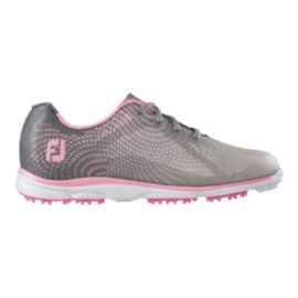 FootJoy Women's Empower Golf Shoes - Grey/Pink