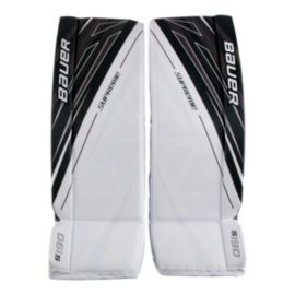 Bauer Supreme S190 Senior Goal Pads White/Black