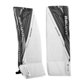 Bauer Supreme S190 Intermediate Goal Pads - White/Black