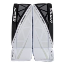 Bauer Supreme S170 Senior Goal Pads White/Black