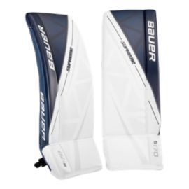 Bauer Supreme S170 Junior Goal Pads White/Navy