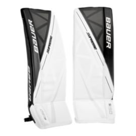 Bauer Supreme S150 Junior Goal Pads - White/Black