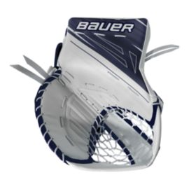 Bauer Supreme 1S Senior Catcher - White/Navy