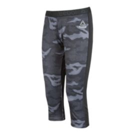 Reebok Workout Ready Camo All-Over Print Women's Capri Tights