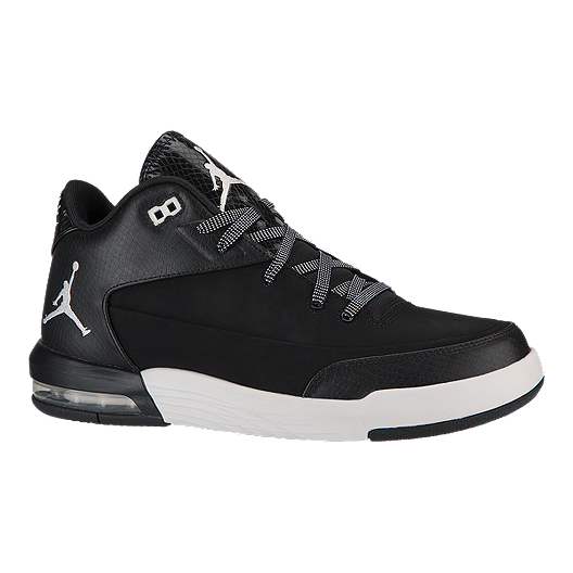 b727131ff4f3 Nike Men s Jordan Flight Origin 3 Basketball Shoes - Black White ...