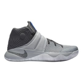 Nike Men's Kyrie 2 Basketball Shoes - Grey