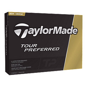 TaylorMade Tour Preferred 12 pack Golf Balls