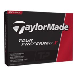 TaylorMade Tour Preferred X 12 pack Golf Balls