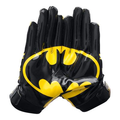 Under Armour Youth Batman F5 Football Gloves - Black