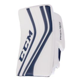 CCM Premier R1.5 Senior Blocker - FRT - White/Navy