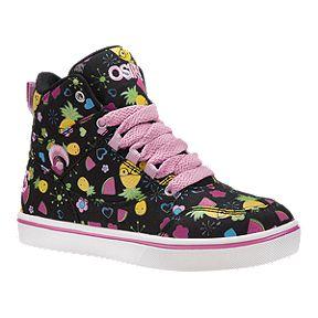 03ad08c3d526 Osiris Girls  Sky Slim Preschool Skate Shoes - Black Multi