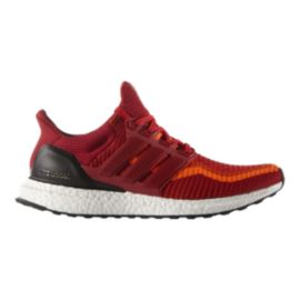 adidas Men's Ultra Boost Running Shoes - Red/Orange/White