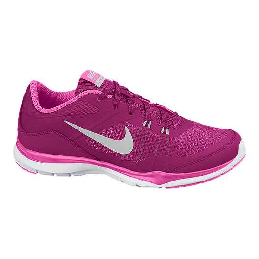13ad0be625cc Nike Women s Flex Trainer 5 Training Shoes - Pink White