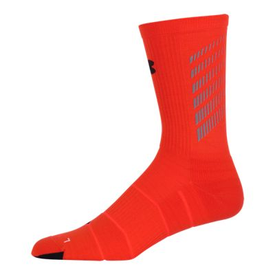 Under Armour Run Launch Reflective Men's Crew Socks