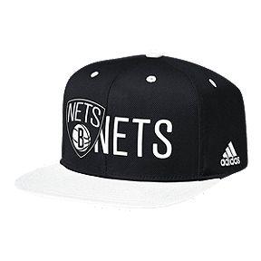ee8d67e40bb Brooklyn Nets Adidas Snapback Cap