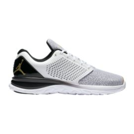 Nike Men's Jordan Standard TR Premium Training Shoes - White/Gold/Black