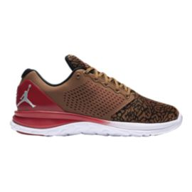Nike Men's Jordan Standard TR Premium Training Shoes - Brown Camo/Red