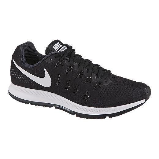 sale retailer 65974 ee1f2 Nike Women s Air Zoom Pegasus 33 Running Shoes - Black White   Sport Chek