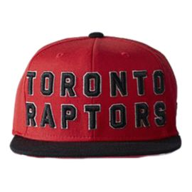 Raptors On Court Snapback Cap