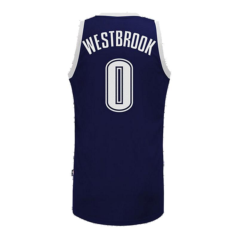 Oklahoma City Thunder Russell Westbrook Swingman Alternate Basketball Jersey   1d3addffa