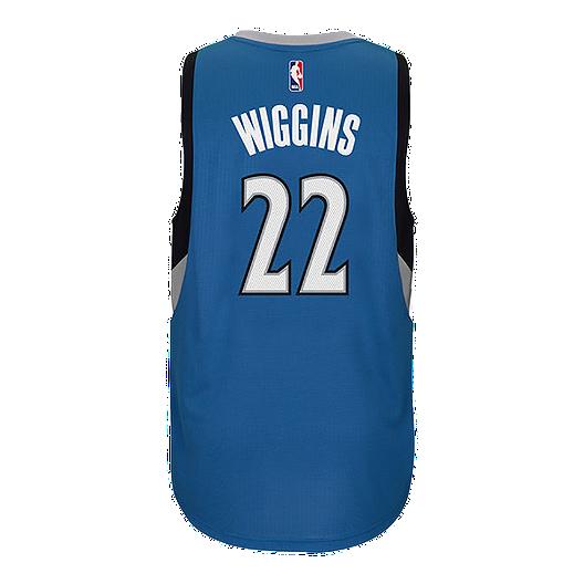 hot sale online faadb ed346 Minnesota Timberwolves Andrew Wiggins Swingman Away Basketball Jersey
