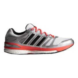adidas Men's Supernova Sequence 7 Running Shoes - White/Silver/Red