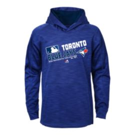 Toronto Blue Jays Kids' Authentic Collection Team Choice On Field Hoodie