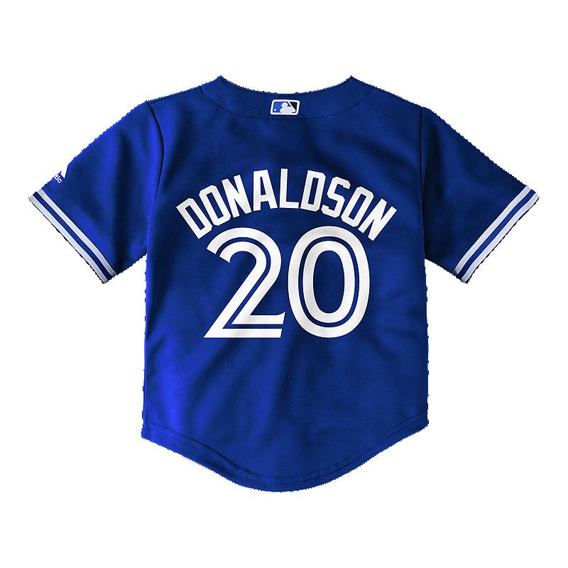 on sale ca15d e07d5 Toronto Blue Jays Baby Josh Donaldson Cool Base Baseball Jersey