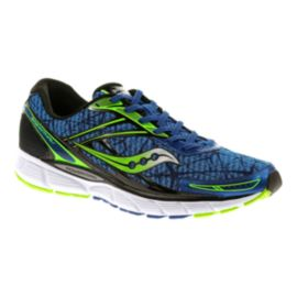 Saucony Men's BreakThru Running Shoes - Blue/Lime Green/Black