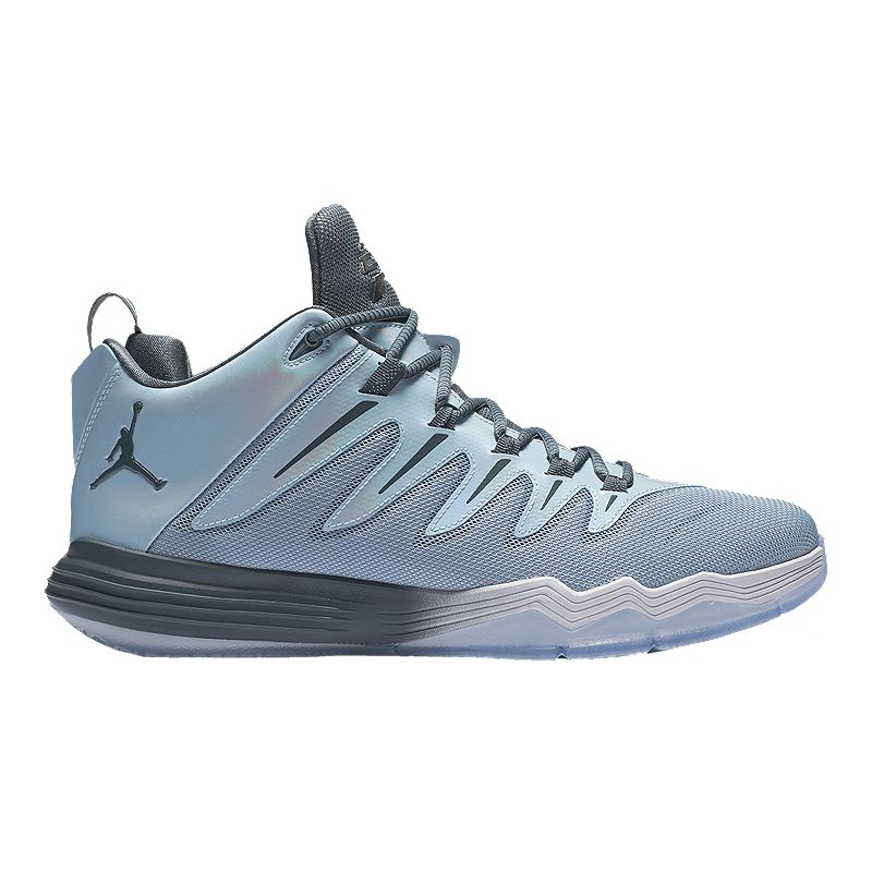 Nike Men's Jordan CP3.IX ''Xmas'' Basketball Shoes - Grey/Silver
