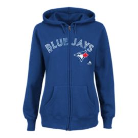Toronto Blue Jays  Wordmark Full Zip Women's Hoodie