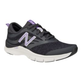 New Balance Women's 713 B Training Shoes - Black/White
