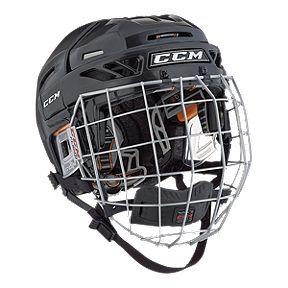 95e169c9977 CCM FitLite 3DS Senior Hockey Helmet Combo
