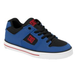 DC Pure Elastic Kids' Grade-School Skate Shoes