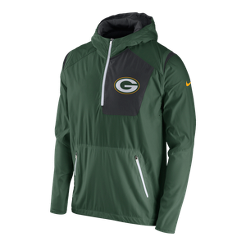 bc206db83 Packers Lightweight Fly Rush Jacket - Green