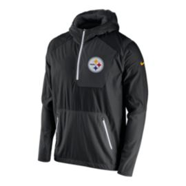 Steelers Lightweight Fly Rush Jacket - Black